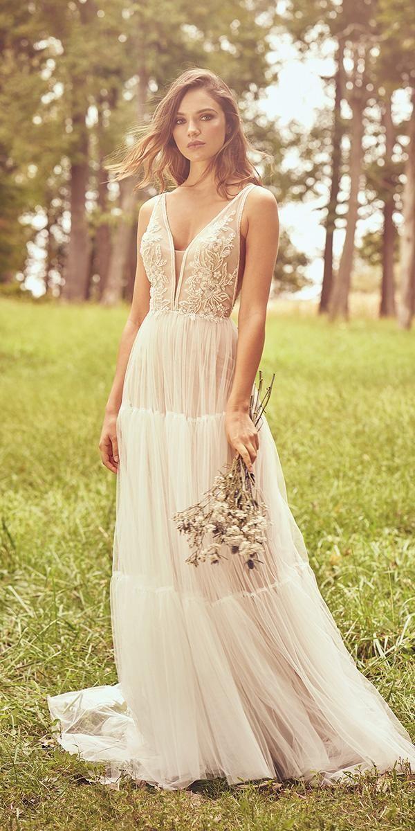 39 Boho Wedding Dresses Of Your Dream Boho Wedding Dress Tulle Wedding Dress Wedding Dresses