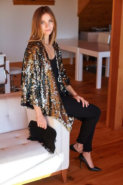 Sequin Jacket  If I get anything for christmas...