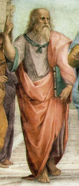 Detail from The School of Athens, Raphael, 1509.