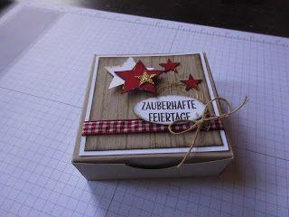 Kreativ am Deich : ...Kartenbox-Anleitung....anders....und Info Magnet-Sammelbestellung...