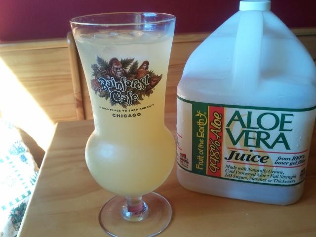 Diaes adult onset juice aloe vera
