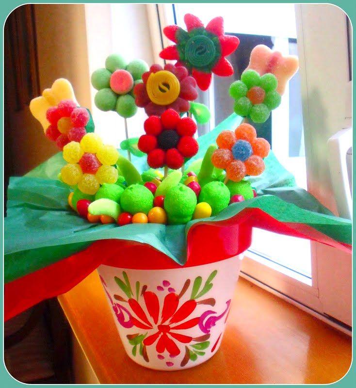 más de 25 ideas únicas sobre centro de mesa con maceta de flores