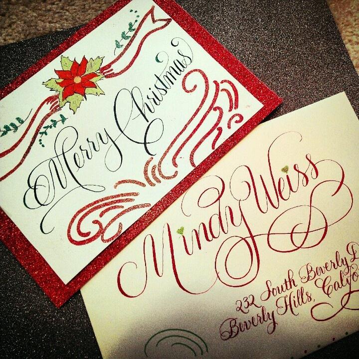 Custom Christmas Card..