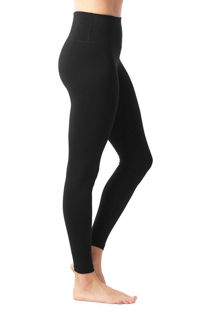 1879230ed3f43 90 Degree By Reflex High Waist Tummy Control Super Compression Leggings  High Rise Hypertek Yoga Pants Black XL * Visit the image link more details.