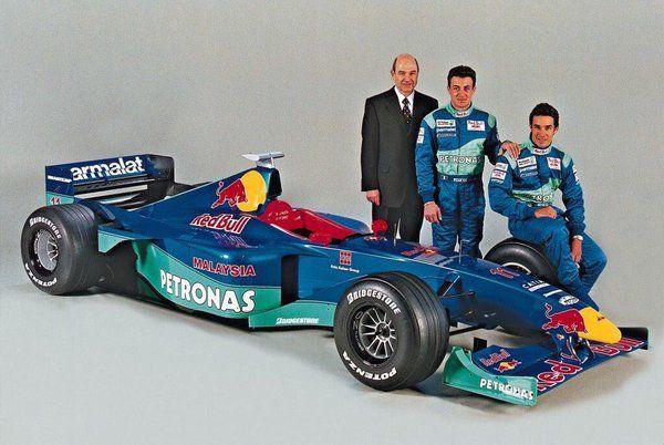 Peter Sauber / Jean Alesi / Pedro Diniz (Sauber-Petronas V10, C18 - Launch). 1999
