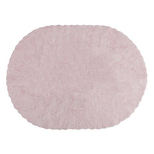 PROMOTION – Tapis de sol enfant ovale 120×160 cm rose