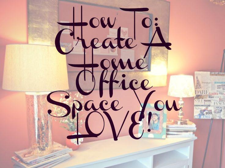 Lovely Home Office Makeover