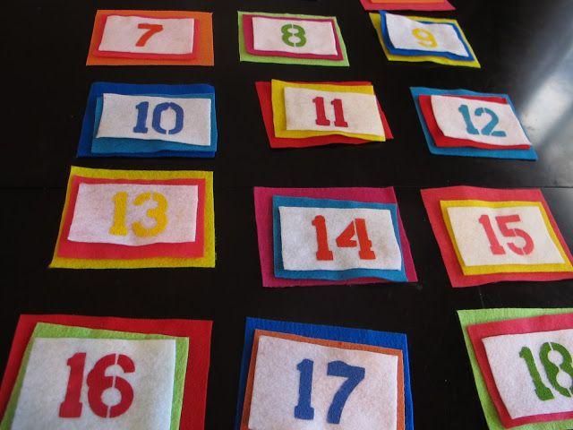 Christmas Countdown DIY - Diapers-n-Heels