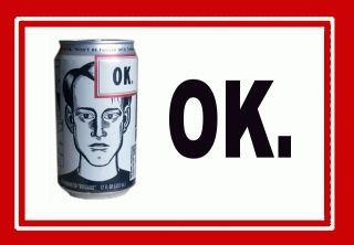 things are going to be ok - Daniel Clowes designed soda cans in the 90's