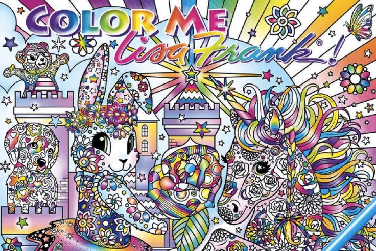 Were DyingLisa Frank Is Coming Out With Adult Coloring Books