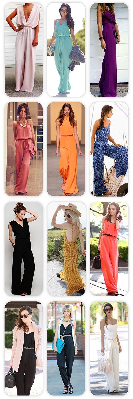 Summer Trend: Ολόσωμες Φόρμες / Overalls