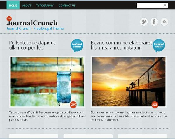 http://www.victoo.net/journal-crunch-free-drupal-template-456.html