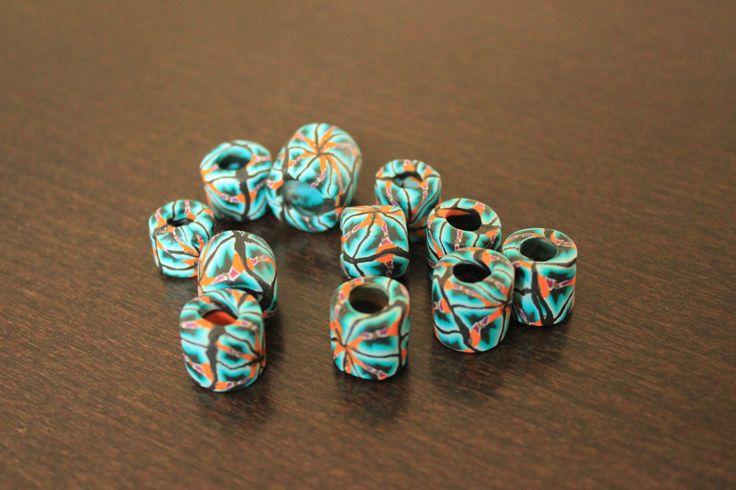 Dreadlock bead, Dreadpearl, Rastapearl, Dreadlock Jewelry, Dreadlockpearl von DreadpearlParadise auf Etsy