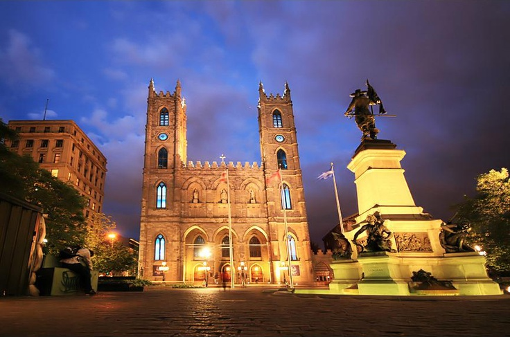Notre-Dame Basilica, Montreal, Quebec, Canada. You would never know by the unassuming exterior what great beauty lies within. doc