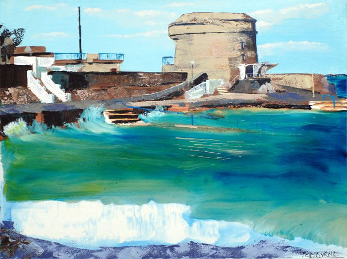 #Seapoint from #DublinBay Series by #TomByrne from #DukeStreetGallery Dublin