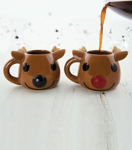 Achetez le mug thermoréactif cerf Rudolf sur lavantgardiste et réchauffez vos après-midi hivernales.