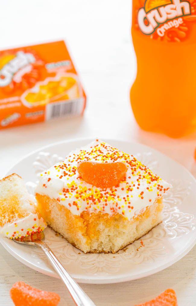 Orange Crush Dump Cake