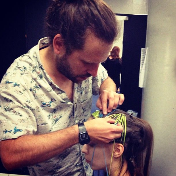 #xpresionthread #xpresion #creativeeducation #hairexpo #sidney Photo by #ozdare