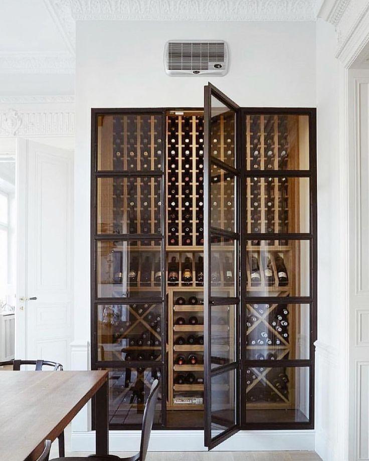Wine Storage Heminredning Kok Modern Interior