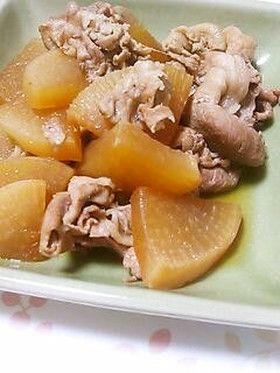 豚肉と大根の中華炒め煮