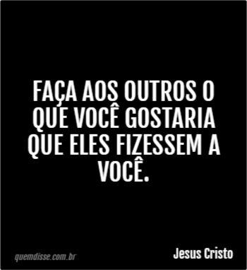 Frase de Jesus Cristo