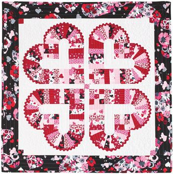 222 Best Hearts Amp Valentine Quilts Images On Pinterest