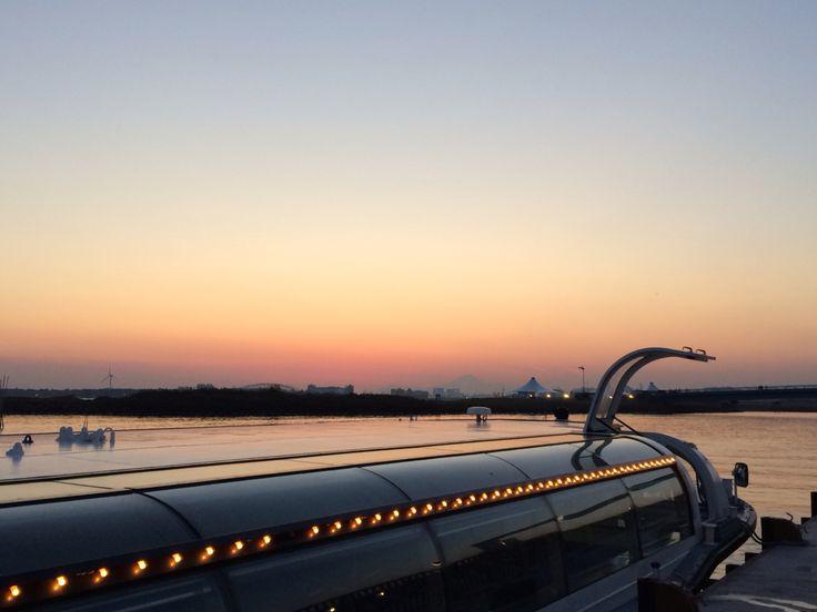 水上バス@葛西臨海公園
