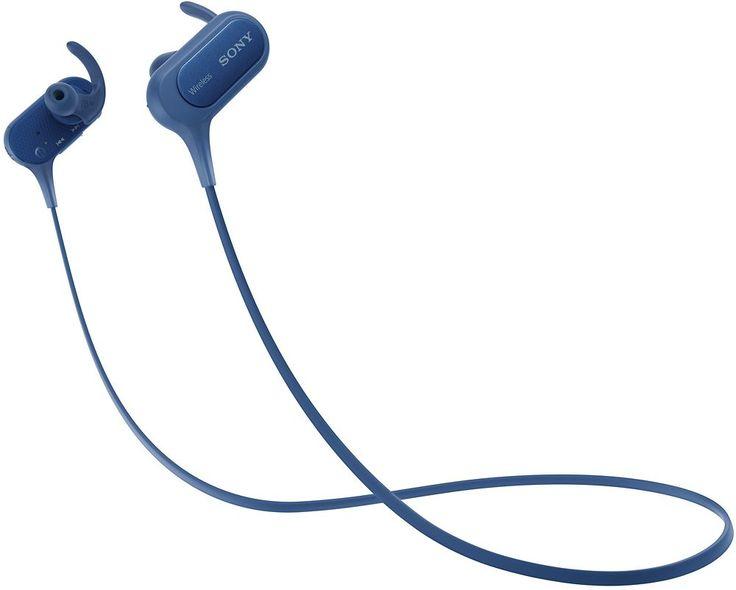 Sony - XB50BS Extra Bass Sports Wireless In-Ear Headphones - Blue
