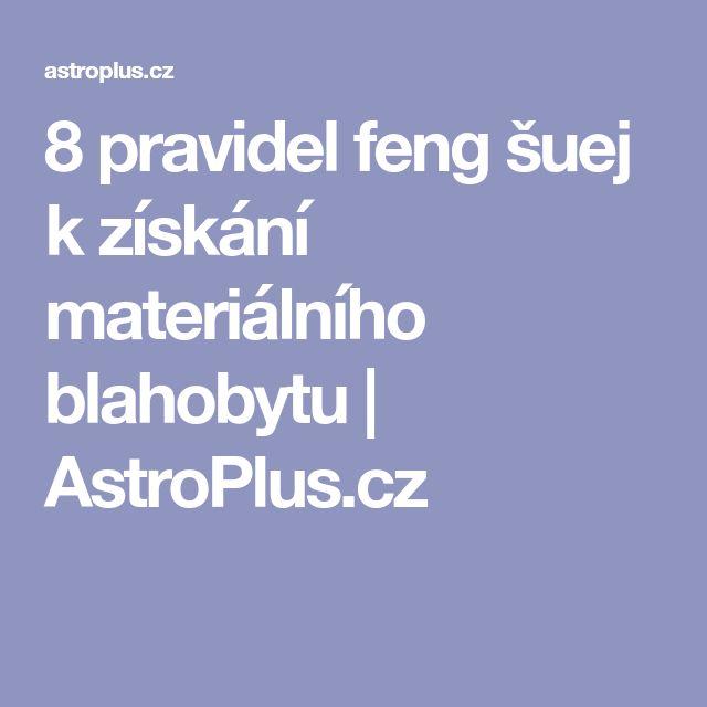 8 pravidel feng šuej k získání materiálního blahobytu | AstroPlus.cz