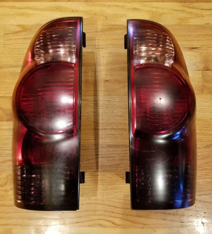 2005-2008 Toyota Tacoma Tail lights with custom dark tint pair set left right #Unbranded