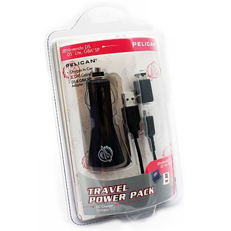 Travel Car Power Pack - Compatible with GBA SP (PDP) https://www.retrogamingstores.com/gaming-accessories/ds-lite-adapter-travel-car-power-pack-compatible-with-gba-sp-pdp  Travel with your Nintendo and be worry free if it losses power with this USB car adapter.