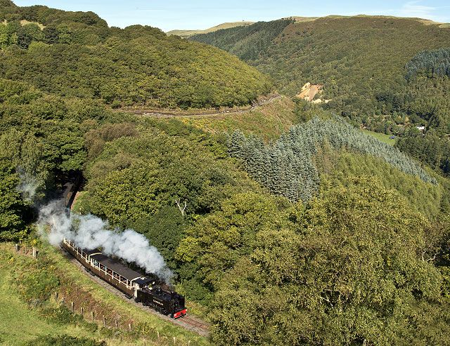 Vale of Rheidol narrow gauge steam railway near Devil's Bridge in mid-Wales. Description from pinterest.com. I searched for this on bing.com/images