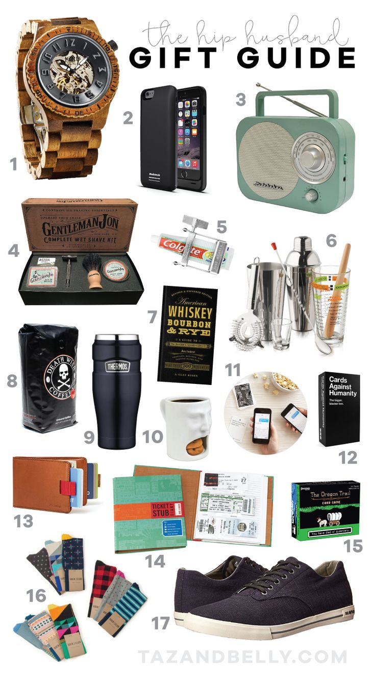 The Hip Husband Gift Guide Gifts For Husband Christmas