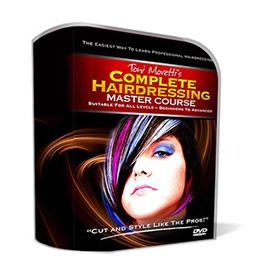 Now YOU Can Learn How To Cut & Style Hair Easily In 2 Hours or Less... With The Ultimate Home Hairdressing Course