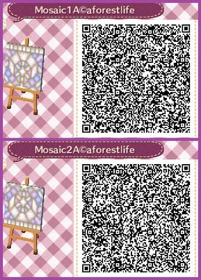 Qr Code Acnl Mosa 239 Que Lune Bord Nord Sud Qr Codes Animal