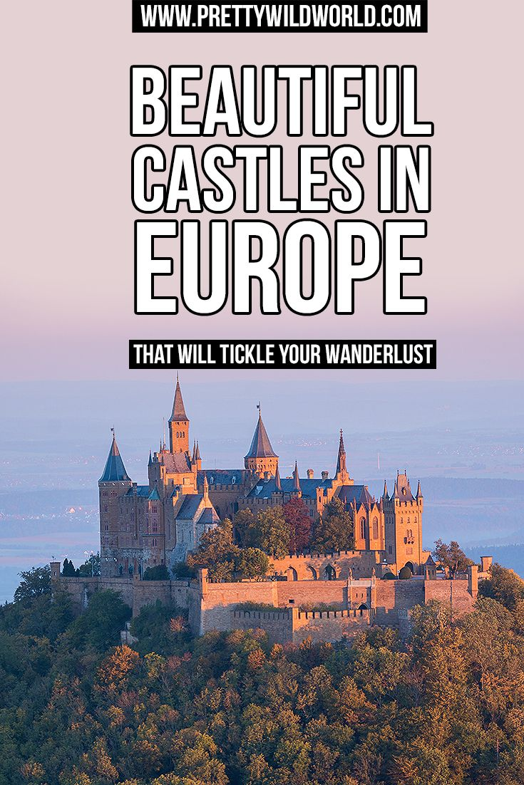 Interested to know what can tickle your wanderlust? Here are some of the beautiful castles in Europe you'd love to visit in your lifetime! Read now or pin it for later!