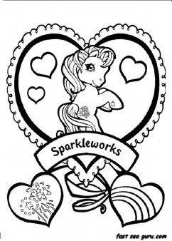 Printable ittle Pony Friendship Is Magic Sparkle coloring pages - Printable Coloring Pages For Kids  fastseoguru.com