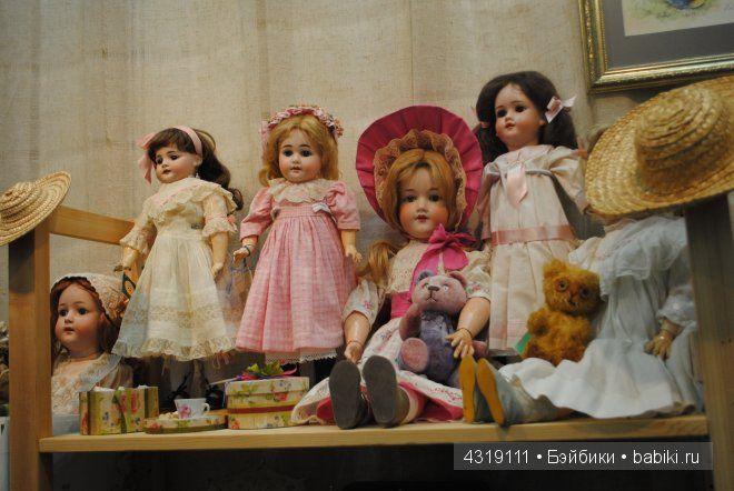 Х Международный Салон Кукол 2014. Винтаж, антиквариат