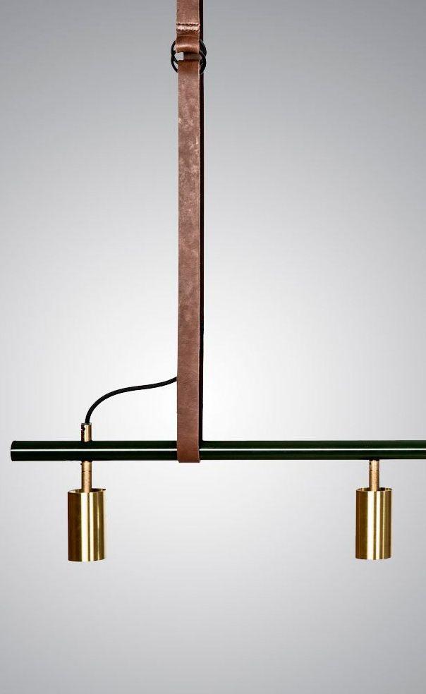 Long John suspension light, Rubn