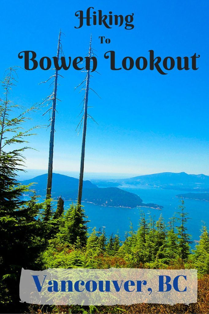 The hike to Bowen Lookout on Cypress Mountain starts just 30 minutes from downtown Vancouver. It is a moderate level hike with a spectacular view of Bowen Island at the end. via @livedreamdiscov