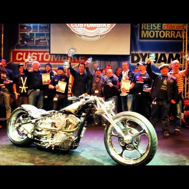 Best Of Show Custom Bike Show in GERMANY