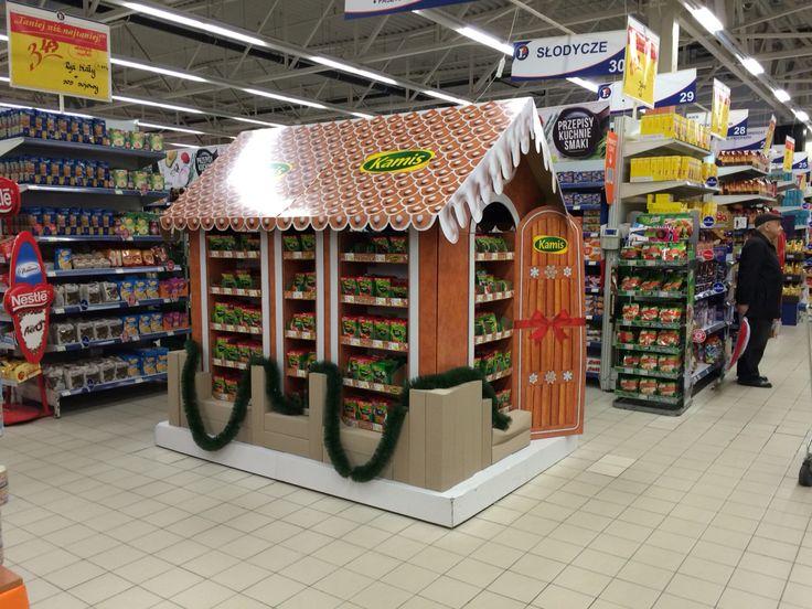 Kamis x-mass hut display