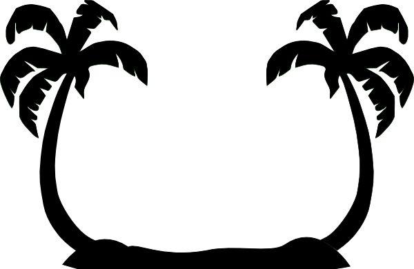 2 Palm Trees clip art - vector clip art online, royalty free ... - ClipArt Best - ClipArt Best