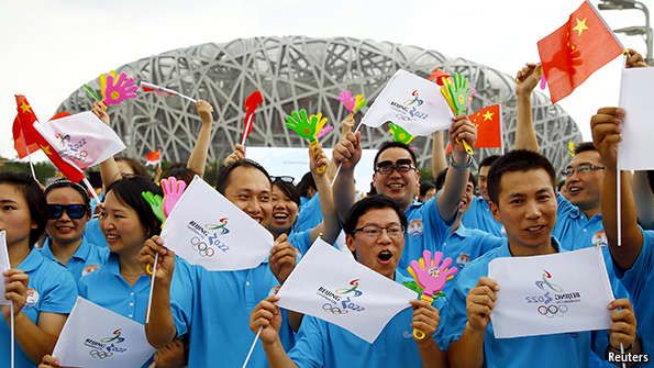 China gets the 2022 winter Olympics | The Economist