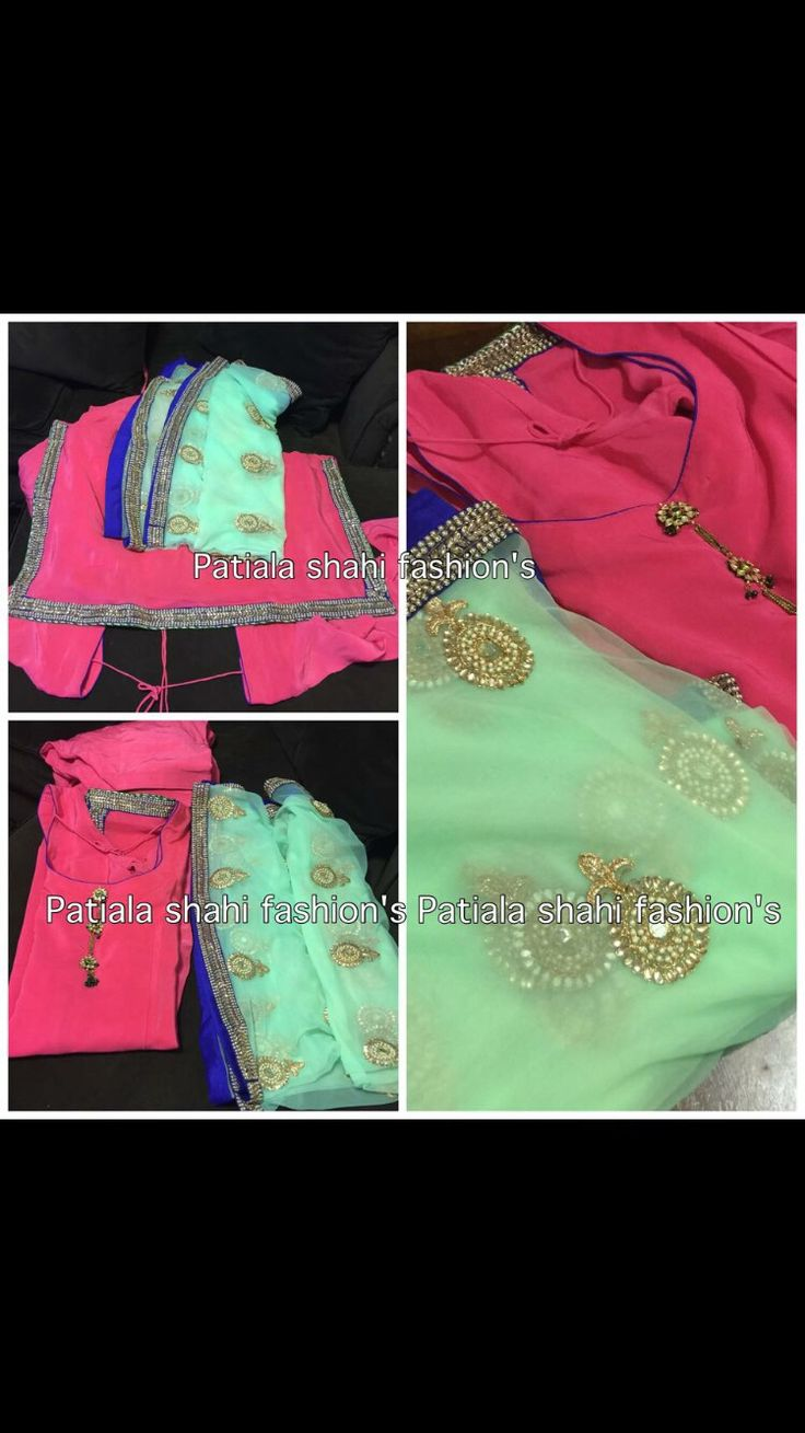 Designer suits with heavy dupatta