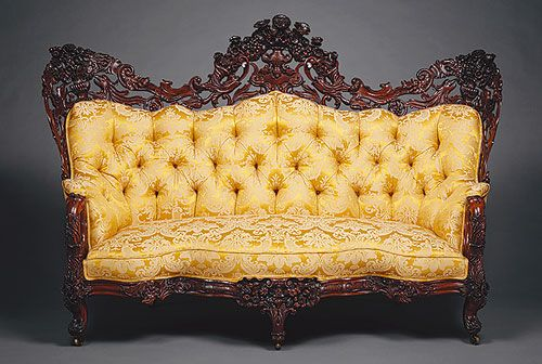 Victorian couch