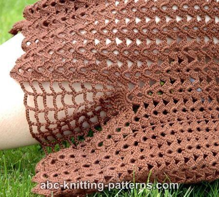 ABC Knitting Patterns - Shell Summer Skirt