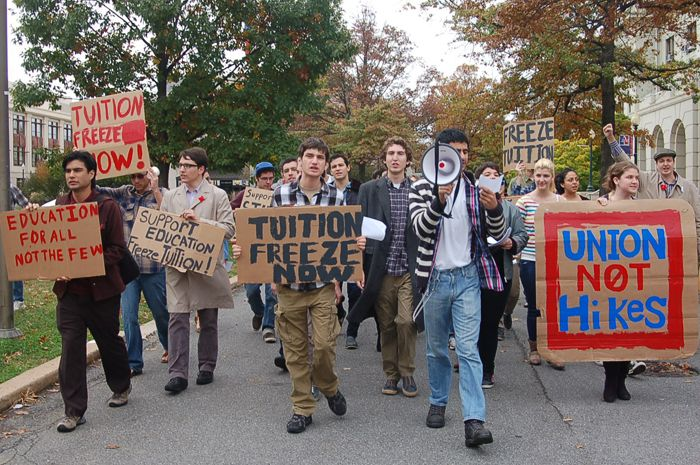Students demand tuition freeze, response from Kerwin CAUS plans to protest again Oct. 26 By Jared Angle | Published 10/23/12 1:17pm