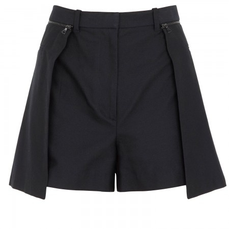 Cotton and silk blend shorts, Mini, Harvey Nichols Store View