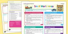 Book Corner or Reading Area Editable Continuous Provision Plan